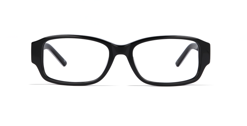 Lunettes de vue femme CHANTAL noir - Vue de face