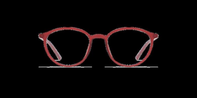 Lunettes de vue femme LIGHT TONIC rouge