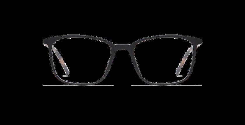 Lunettes de vue homme FLOW noir - Vue de face