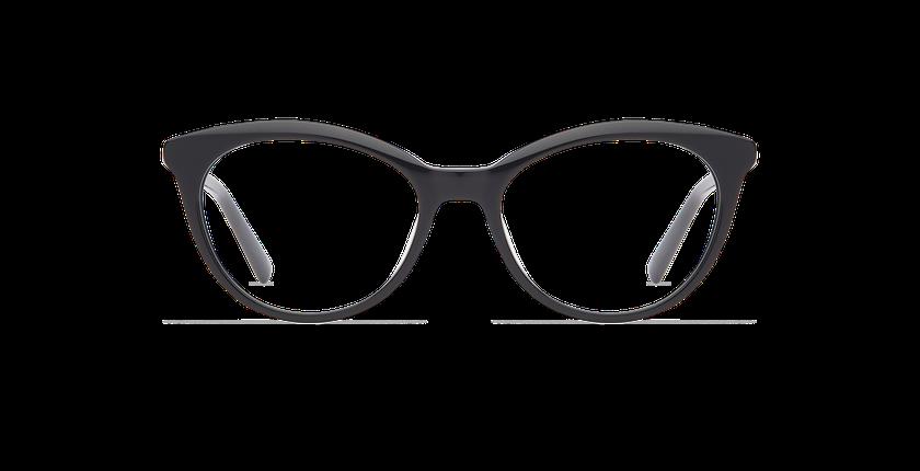 Lunettes de vue femme THALIA noir - Vue de face