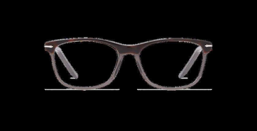Lunettes de vue homme ARBOIS écaille/gris - Vue de face