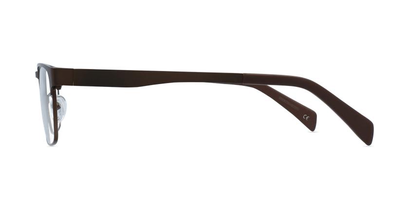 Lunettes de vue homme RZERO15 marron - Vue de côté