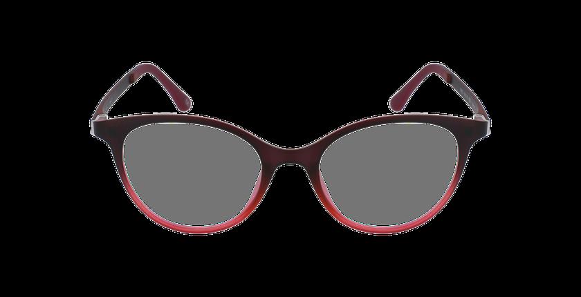 Lunettes de vue femme MAGIC 23 rouge - Vue de face