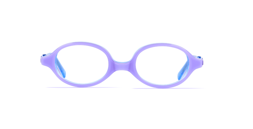 Lunettes de vue enfant ELSA violet - Vue de face