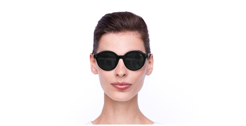 Lunettes de soleil femme BA5001S noir - Vue de face