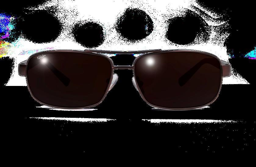Lunettes de soleil homme ALFREDO marron - danio.store.product.image_view_face