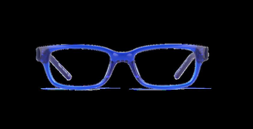 Lunettes de vue enfant ENZO bleu - Vue de face