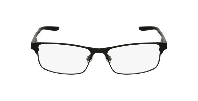 Lunettes de vue homme 8046 noir - Vue de face