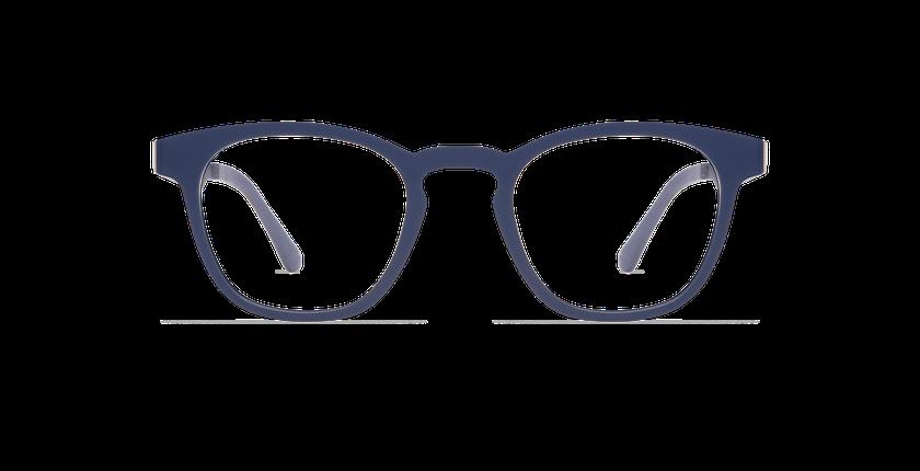 Lunettes de vue SMART TONIC 15 bleu/bleu foncé mat - Vue de face