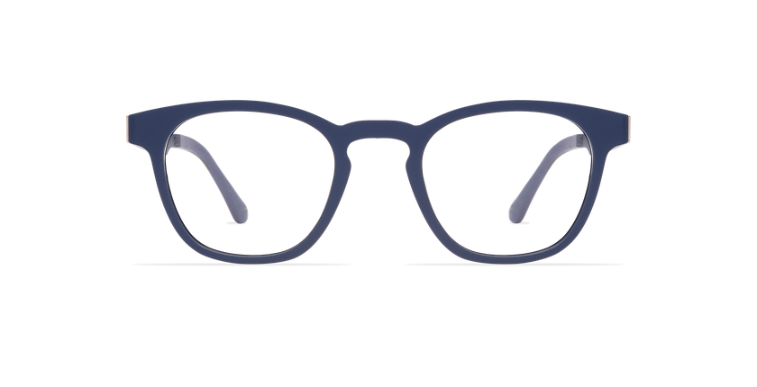 Lunettes de soleil MAGIC 15 bleu/bleu foncé mat - Vue de face