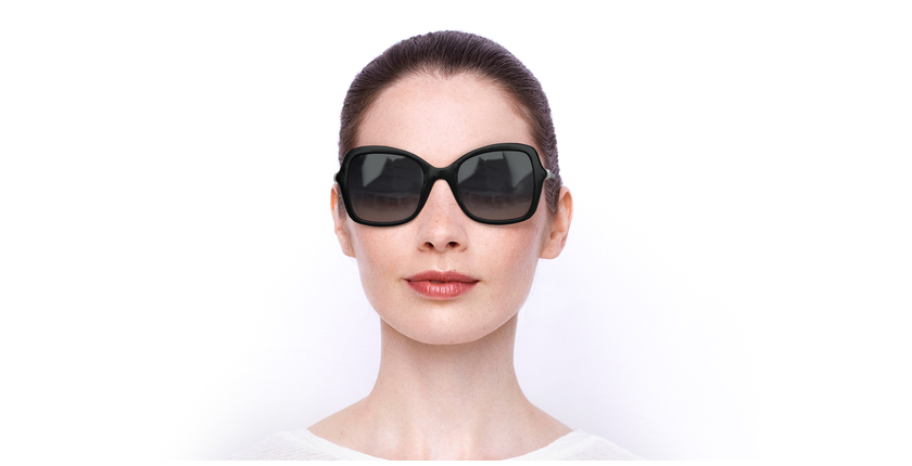 Lunettes de soleil femme SK0235-H noir - Vue de face
