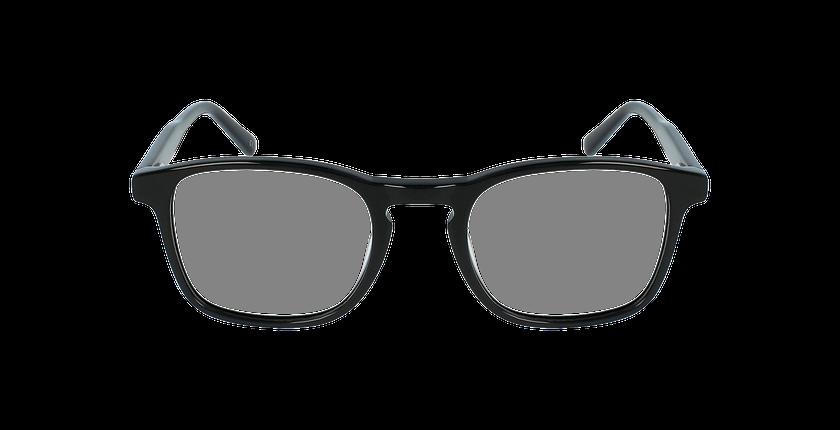Lunettes de vue homme JAROD noir - Vue de face