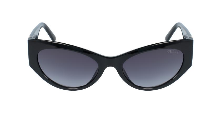 Lunettes de soleil femme GU7624 noir - Vue de face