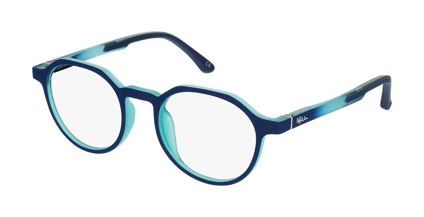 Lunettes de vue enfant MAGIC 77 bleu/turquoise - Vue de face