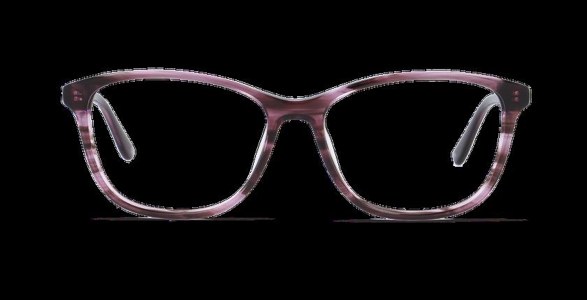 Lunettes de vue femme DAFNE violet - Vue de face