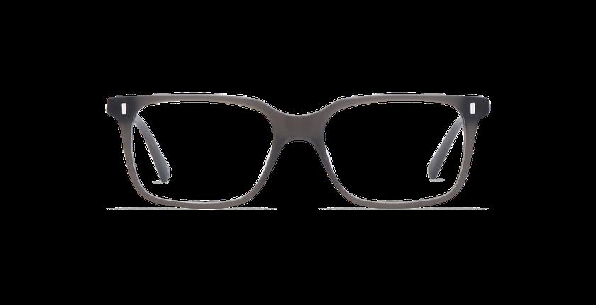 Lunettes de vue homme ANDREW gris - Vue de face