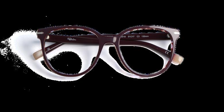Lunettes de vue femme WINDSOR violet/écaille