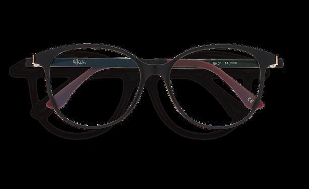 Lunettes de soleil femme MAGIC 29 BLUEBLOCK noir - danio.store.product.image_view_face