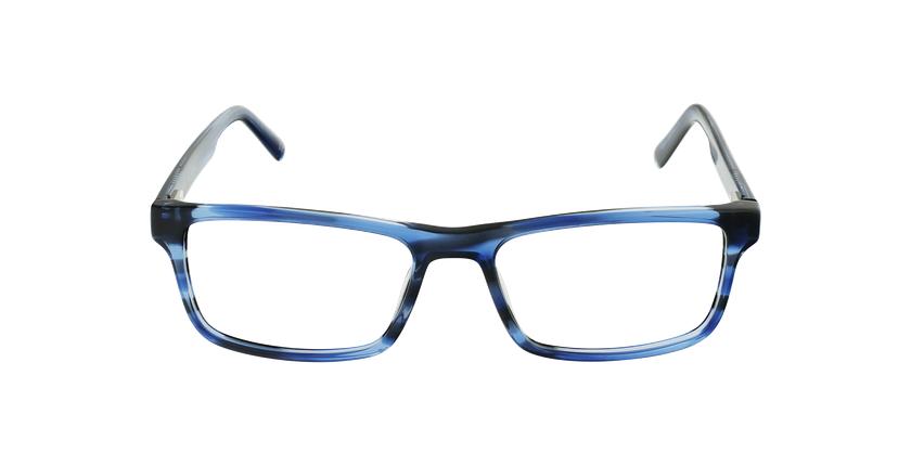 Lunettes de vue homme SOHAN bleu - Vue de face