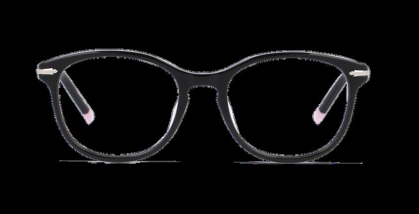 Lunettes de vue femme KEIGHLEY noir - Vue de face