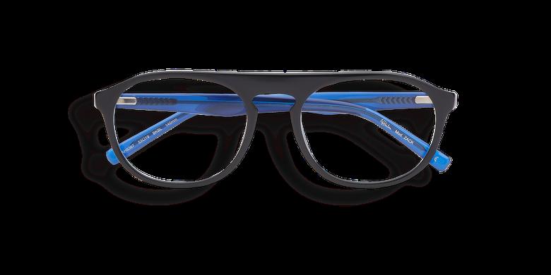 Lunettes de vue homme ZACK noir/bleu