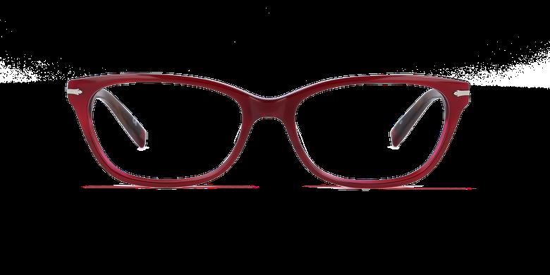 Lunettes de vue femme PLYMOUTH rouge