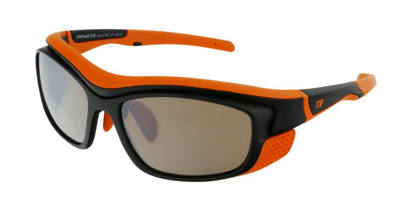 Lunettes de soleil Piment noir/orange - vue de 3/4