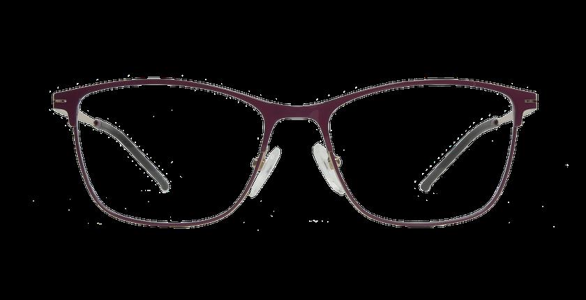 Lunettes de vue femme AIR violet/doré - Vue de face