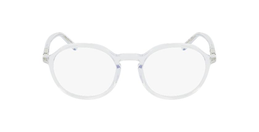 Lunettes de vue femme COLINE cristal - Vue de face