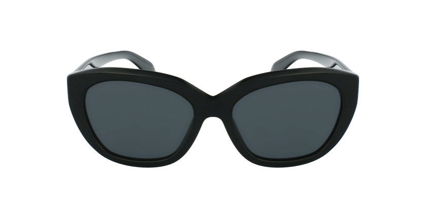 Lunettes de soleil femme 0PR 16XS noir - Vue de face