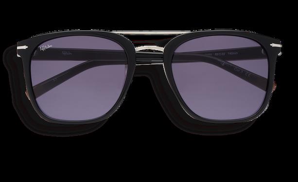 Lunettes de soleil homme DARWIN noir - danio.store.product.image_view_face