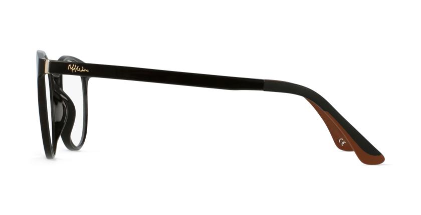 Lunettes de vue femme MAGIC 36 marron - Vue de côté