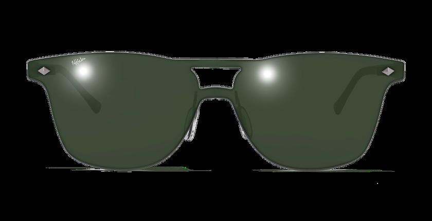 Lunettes de soleil homme COSMOS1 vert - Vue de face