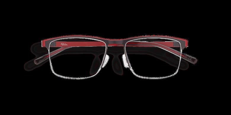Lunettes de vue homme ALPHA16 gris/rouge