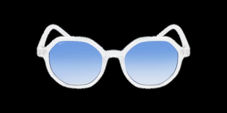 Lunettes de soleil femme DELFIA blanc