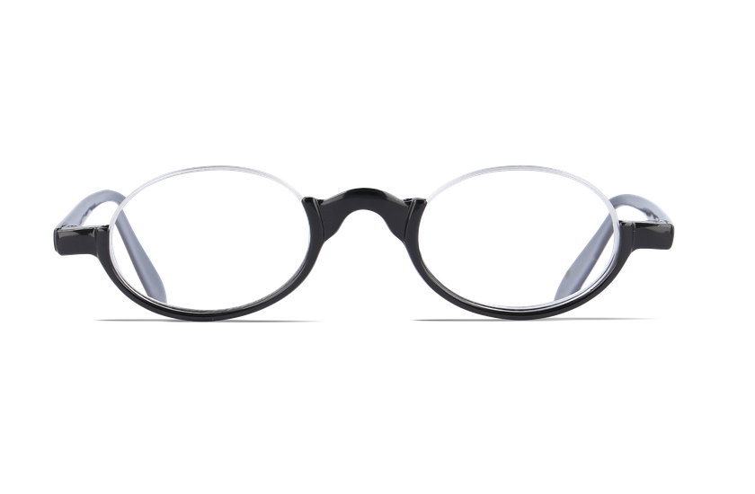 Lunettes de vue AFFLELOU FORTY noir/argenté - danio.store.product.image_view_face