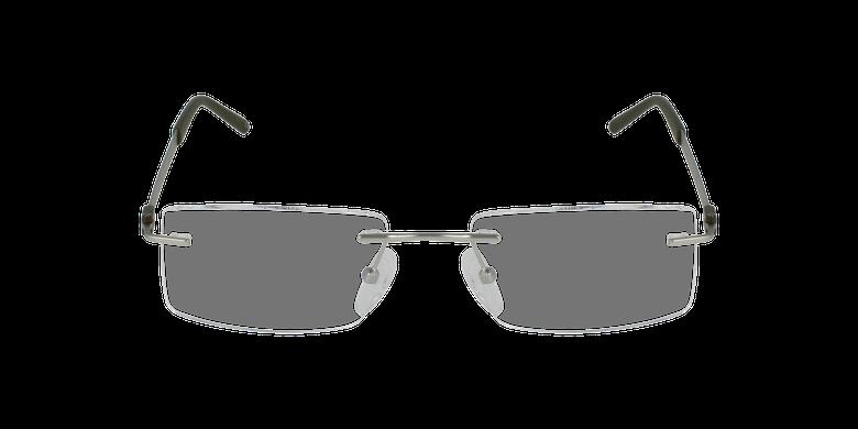 Lunettes de vue homme IDEALE-04 argenté/vert