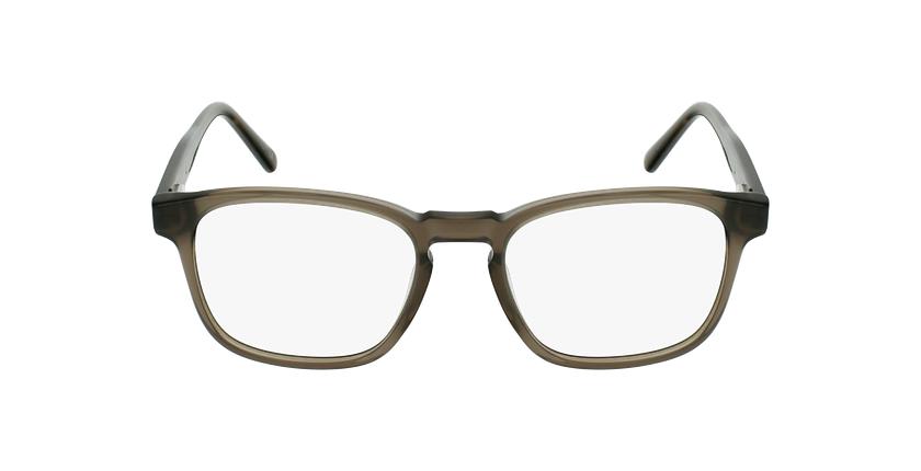 Lunettes de vue homme CLOVIS gris - Vue de face