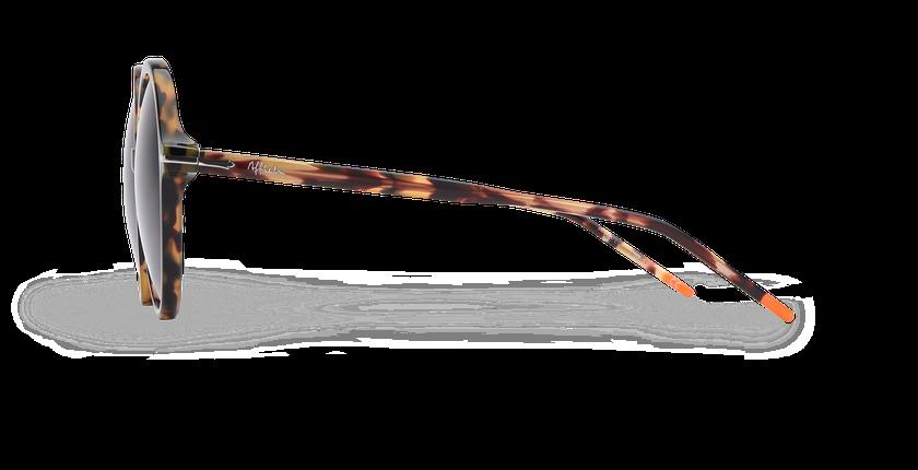 Lunettes de soleil femme KENDAL écaille - Vue de côté