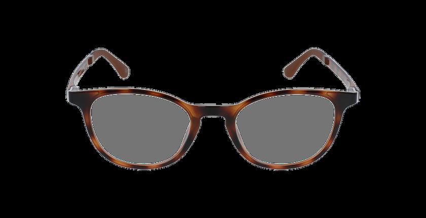 Lunettes de vue femme SMART TONIC 18 écaille/écaille brillant - Vue de face