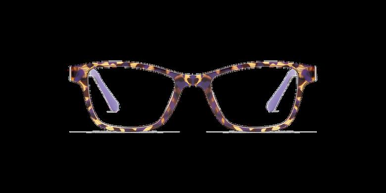 Lunettes de vue femme MAGIC 04 écaille/écaille violet