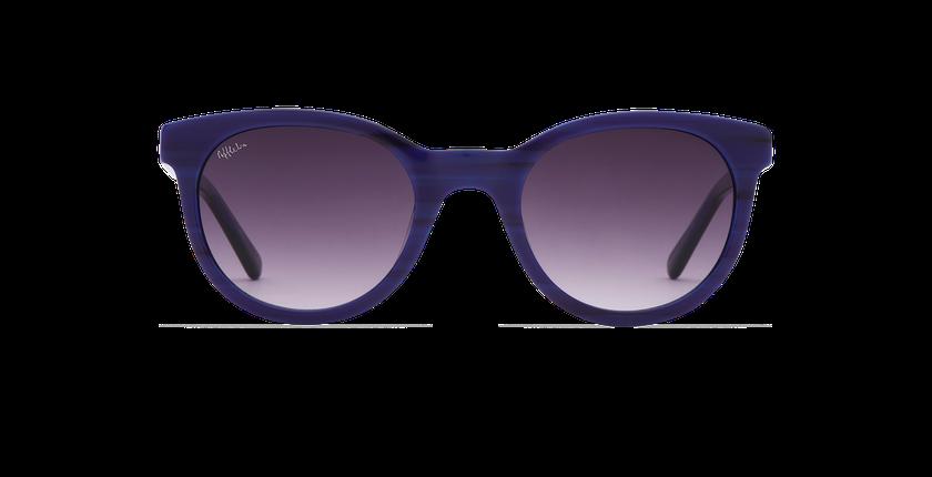 Lunettes de soleil femme ARIANA bleu - Vue de face