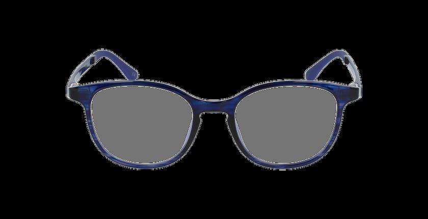 Lunettes de vue femme SMART TONIC 09 violet/bleu - Vue de face