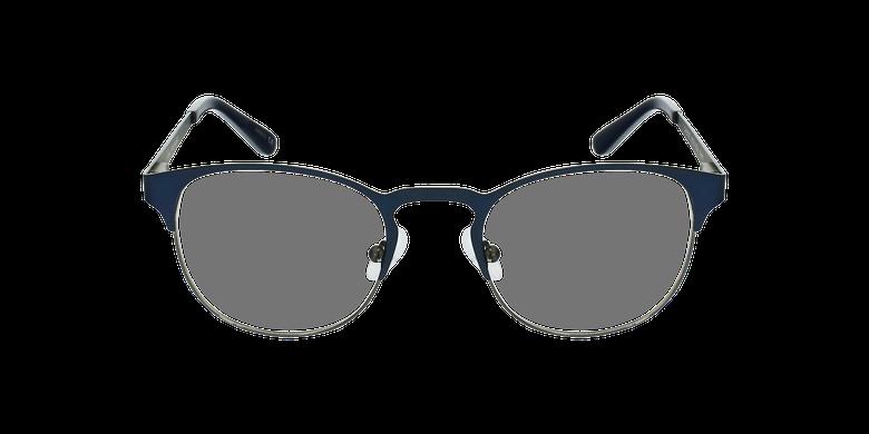 Lunettes de vue homme XAVIER bleu/argenté