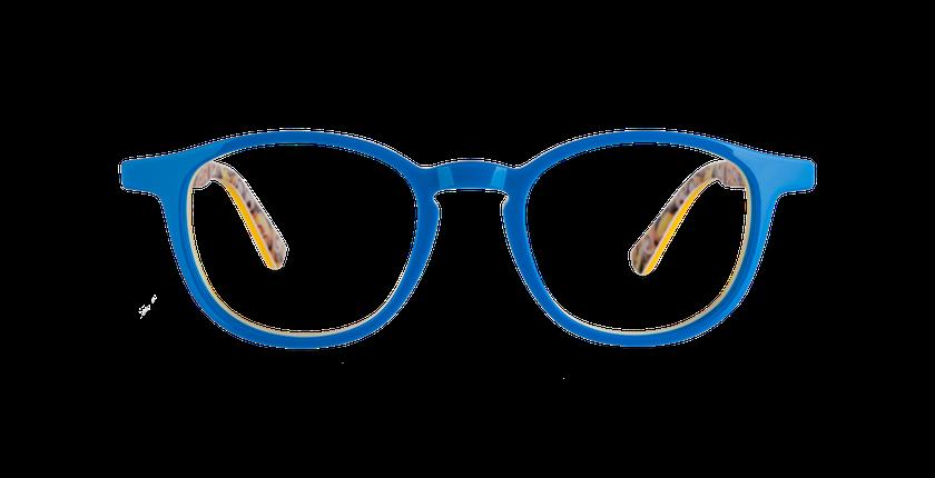 Lunettes de vue enfant BOB bleu/jaune - Vue de face