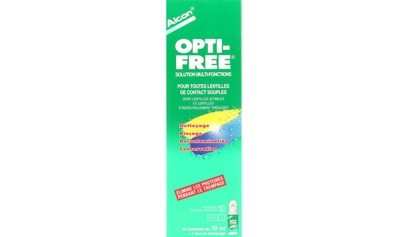 Opti-Free 30x10ml - Vue de face