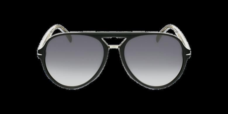 Lunettes de soleil homme DB 7005/S noirVue de face