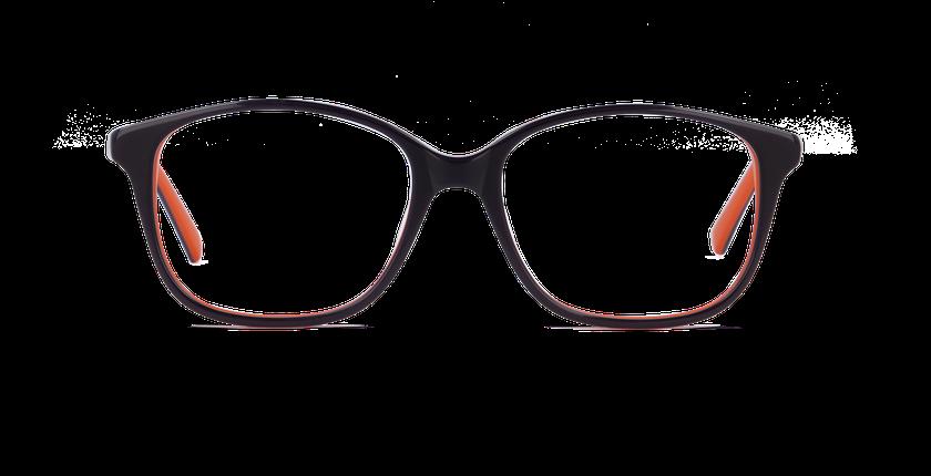 Lunettes de vue femme AMBRE violet - Vue de face