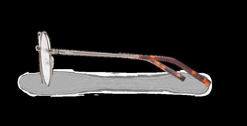 Lunettes de vue JAKE écaille/gris - Vue de côté