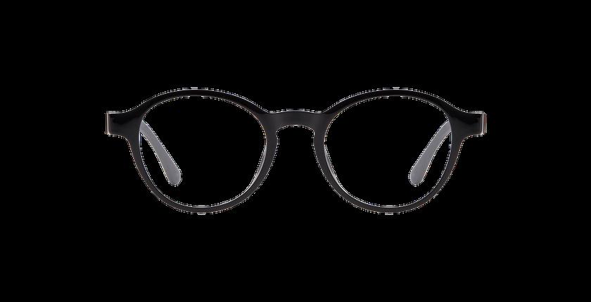 Lunettes de vue femme SMART TONIC 16 noir - Vue de face